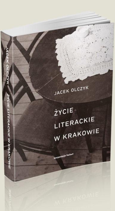 Okładka książki Życie literackie w Krakowie