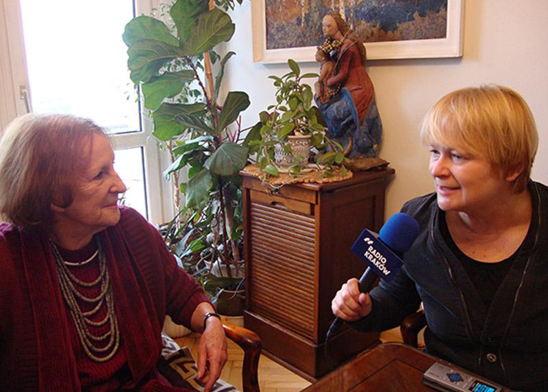 Wanda Chotomska i Barbara Gawryluk - wywiad