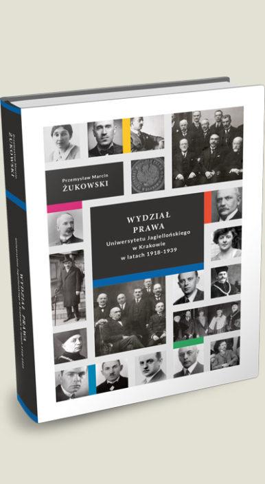Okładka książki Wydział prawa Uniwersytetu Jagiellońskiego w Krakowie