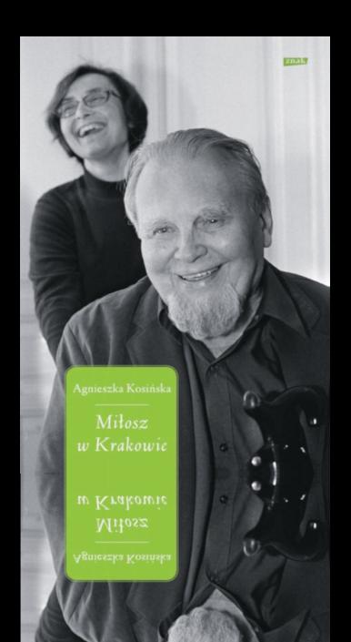 Okładka książki Miłosz w Krakowie