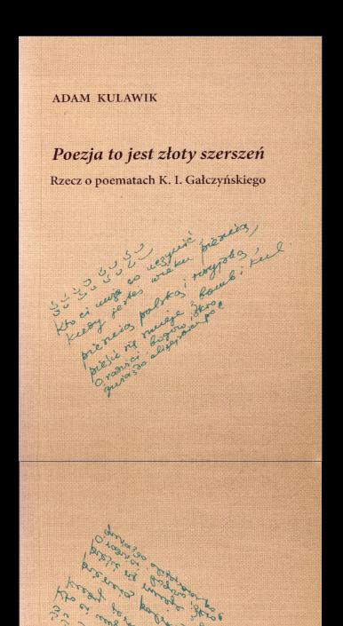 Okładka książki Poezja to jest złoty szerszeń