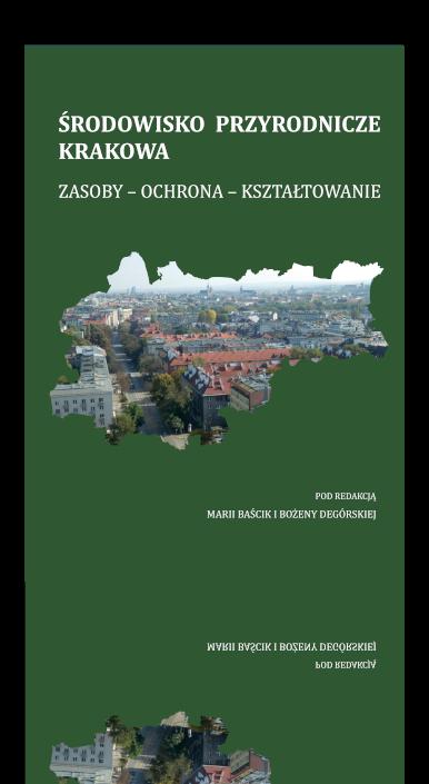 Okładka książki Środowisko przyrodnicze Krakowa