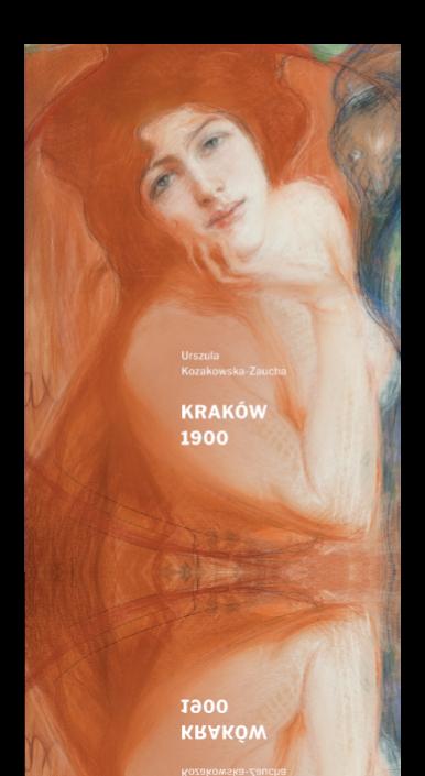Okładka książki Kraków 1900