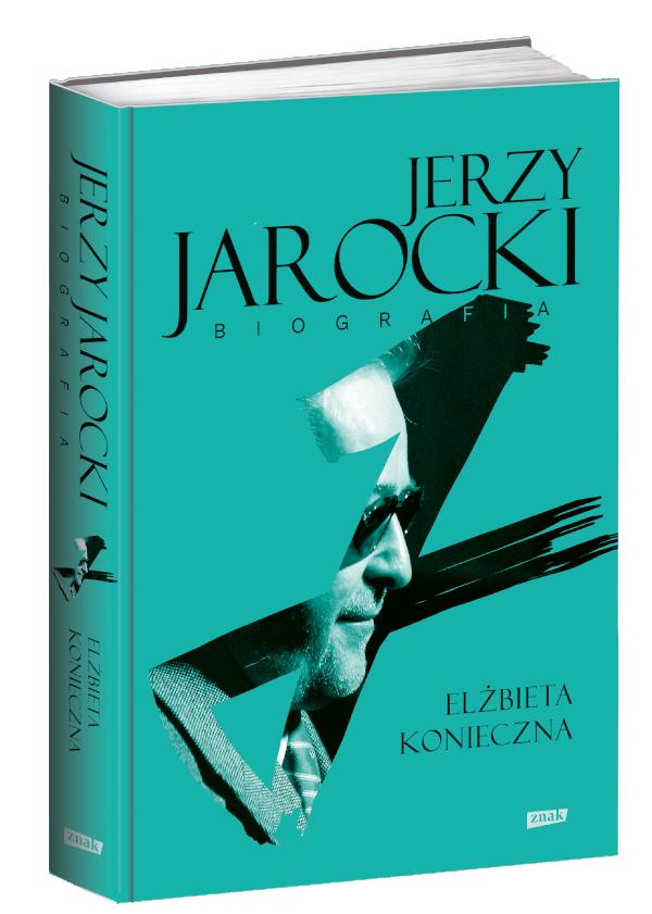"""Okładka Książki - Elżbiety Koniecznej – """"Jarzy Jarocki. Biografia"""""""