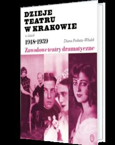 Okładka książki Dzieje teatru w Krakowie