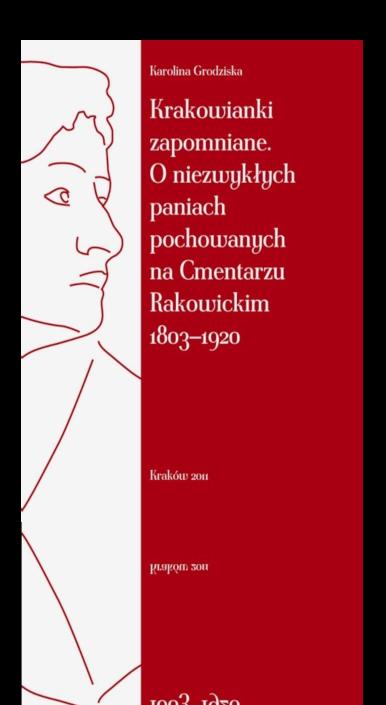Okładka książki Krakowianki zapomniane