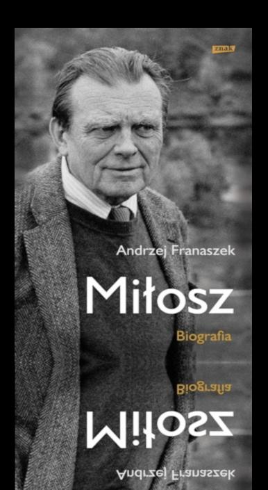 Okładka książki Miłosz. Biografia