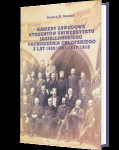 Okładka książki Kariery zawodowe studentów Uniwersytetu Jagiellońskiego...