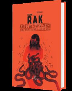 Okładka książki Baśń o wężowym sercu...